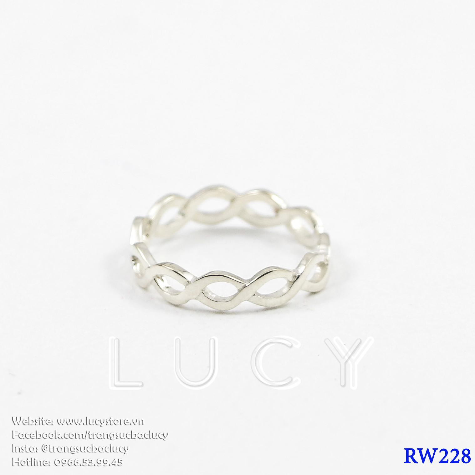 Nhẫn bạc nữ - RW228