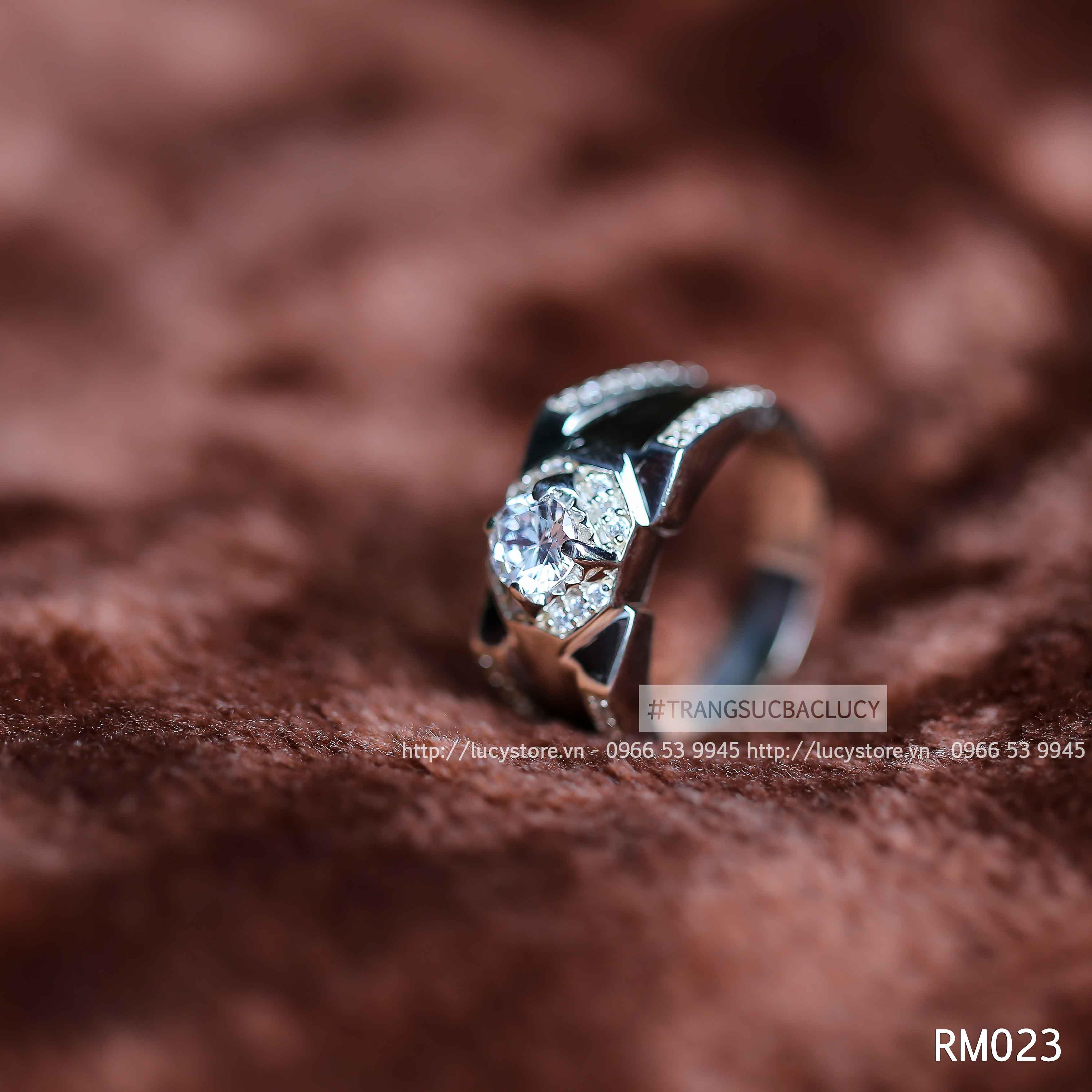 Nhẫn nam bạc Lucy - RM023
