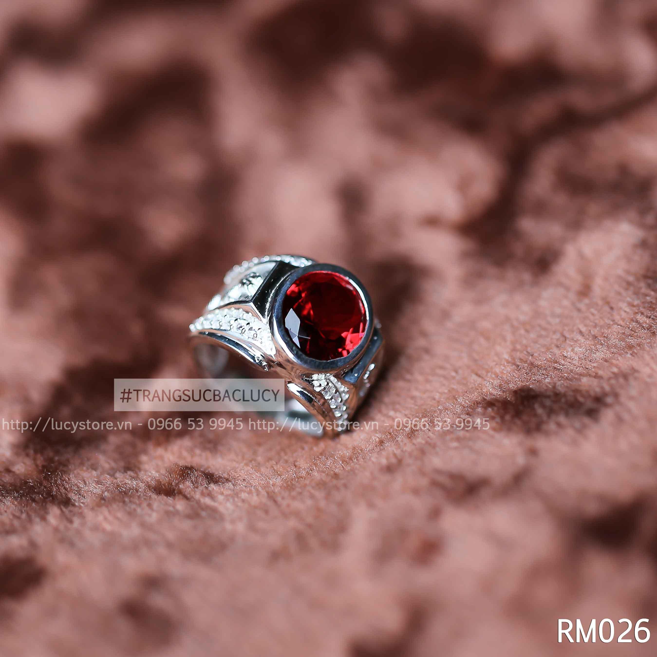 Nhẫn nam bạc Lucy - RM026
