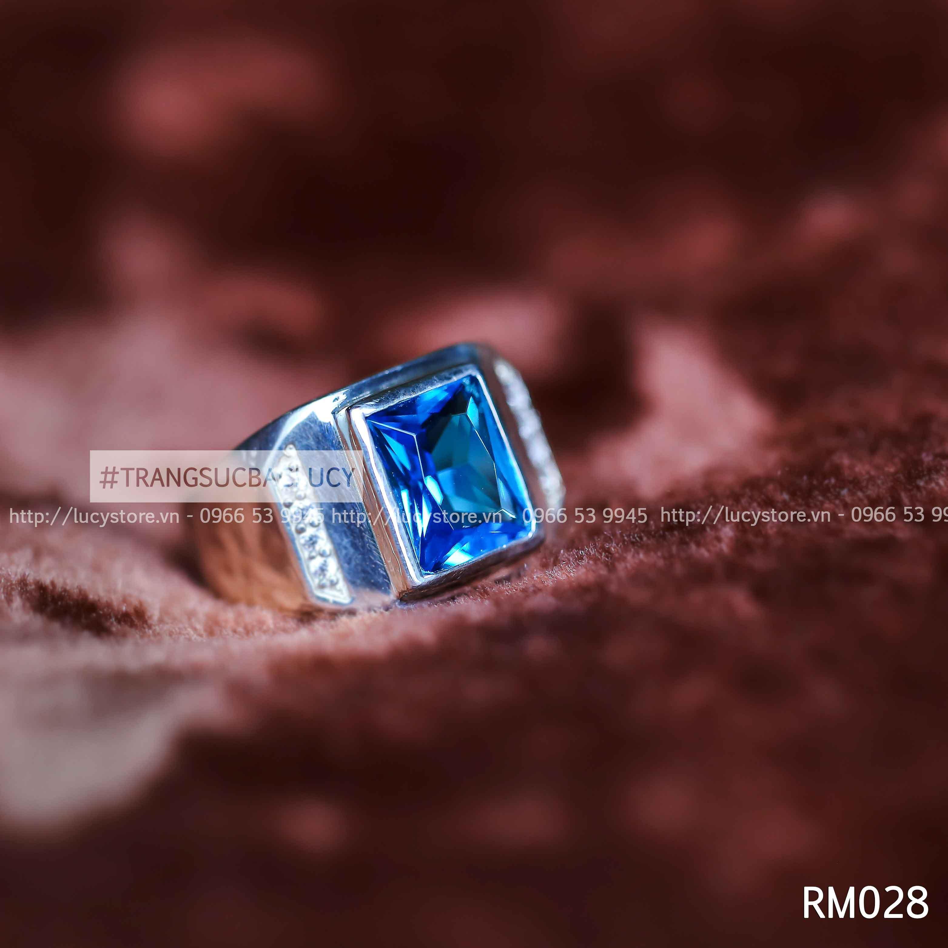 Nhẫn nam bạc Lucy - RM028
