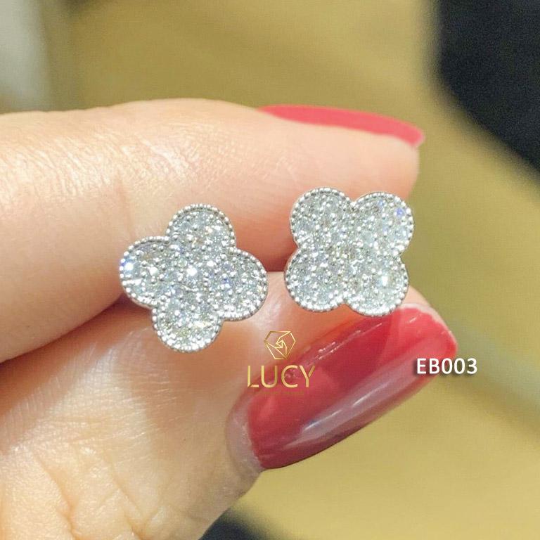 EB003 Khuyên tai vàng thiết kế Lucy Jewelry