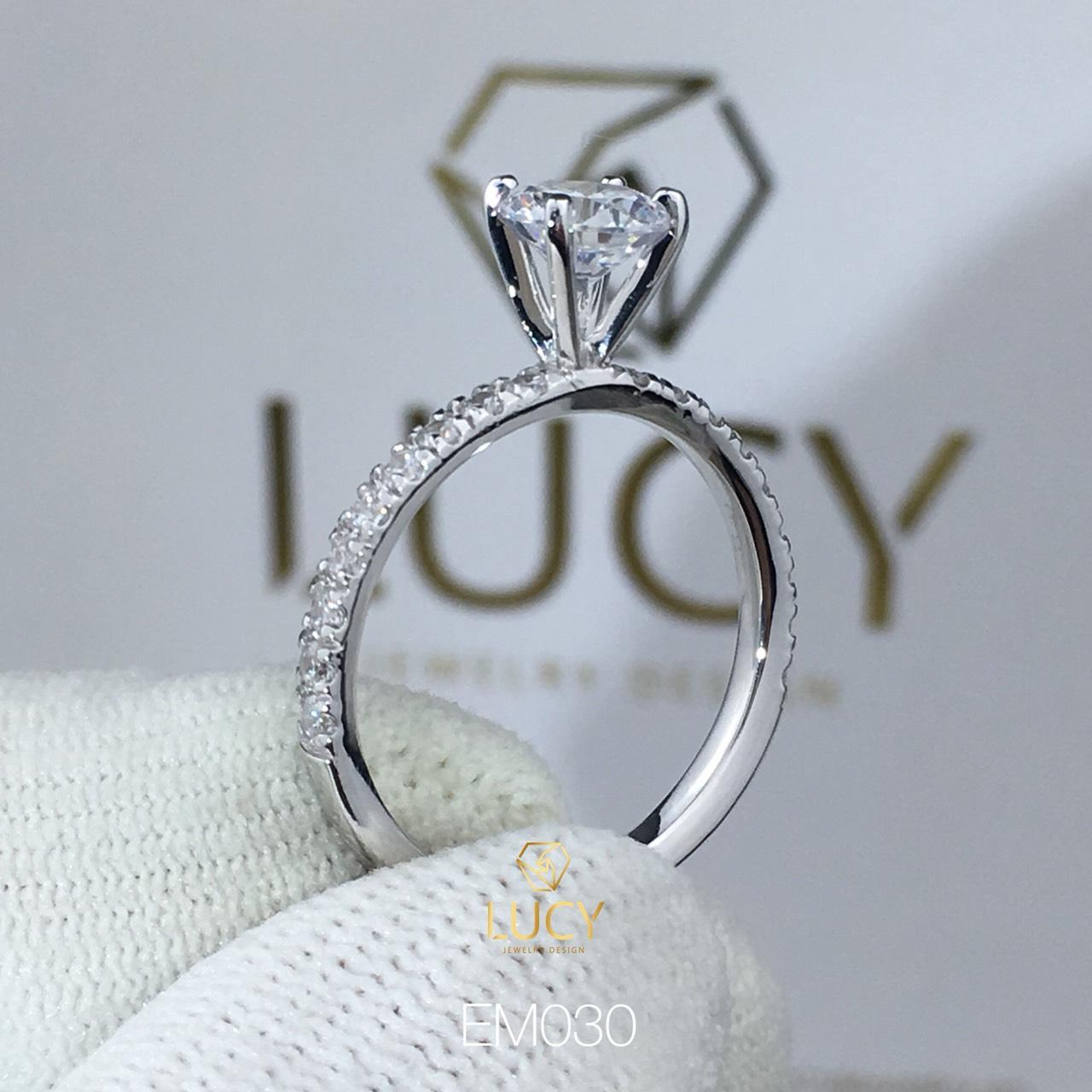 EM030 Nhẫn nữ ổ cao, nhẫn vàng, nhẫn thiết kế, nhẫn cầu hôn, nhẫn đính hôn - Lucy Jewelry