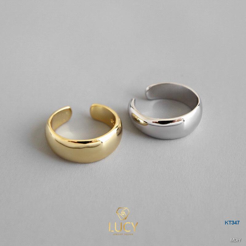 KT347 Khuyên tai bạc Ý - LUCYJEWELRY