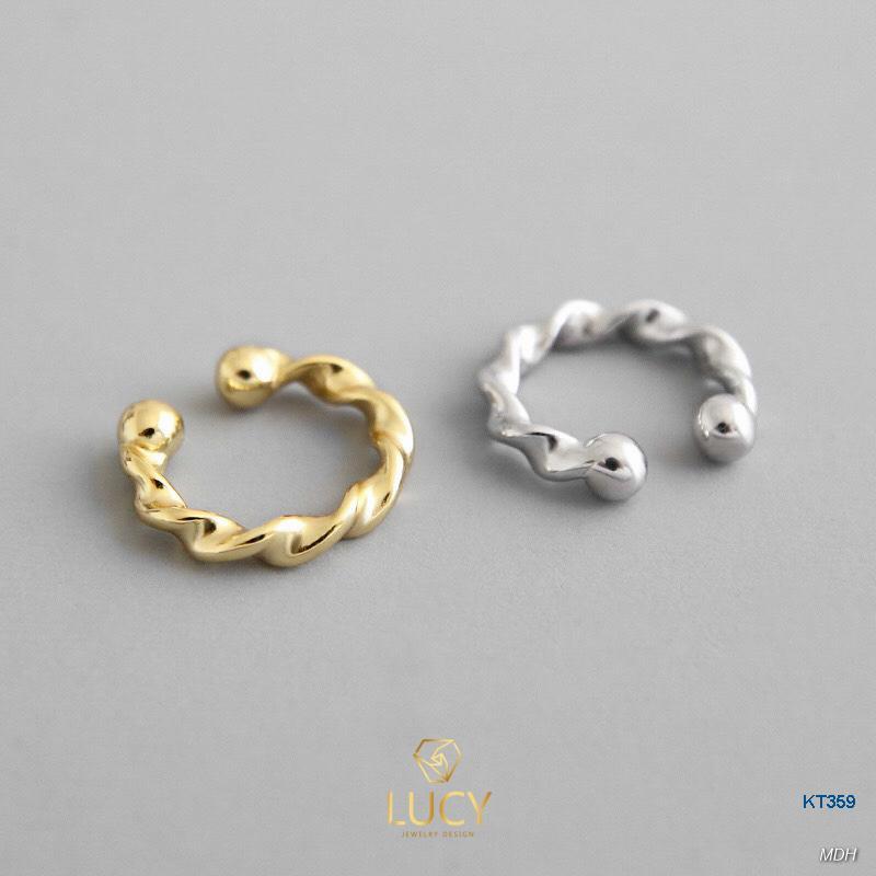 KT359 Khuyên tai bạc Ý - LUCYJEWELRY