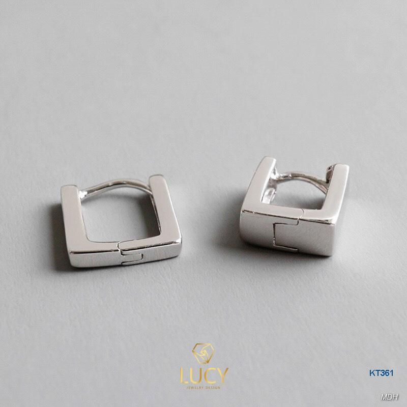 KT361 Khuyên tai bạc Ý 925 - LUCYJEWELRY