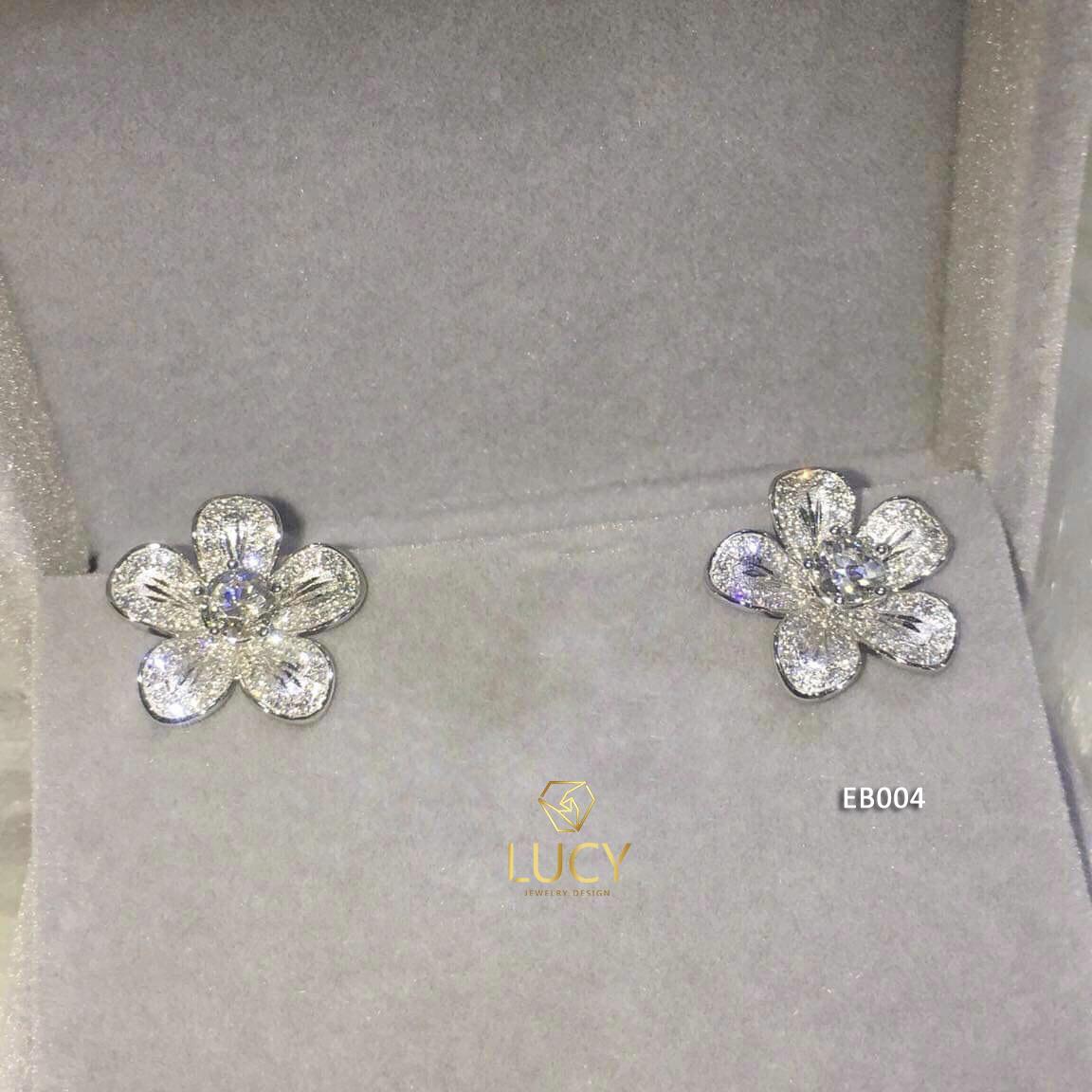 EB004 Khuyên tai vàng thiết kế Lucy Jewelry