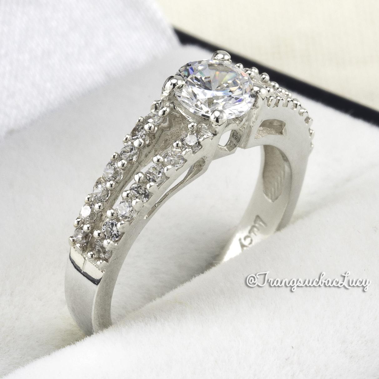 Nhẫn bạc nữ đẹp - ND030_NU