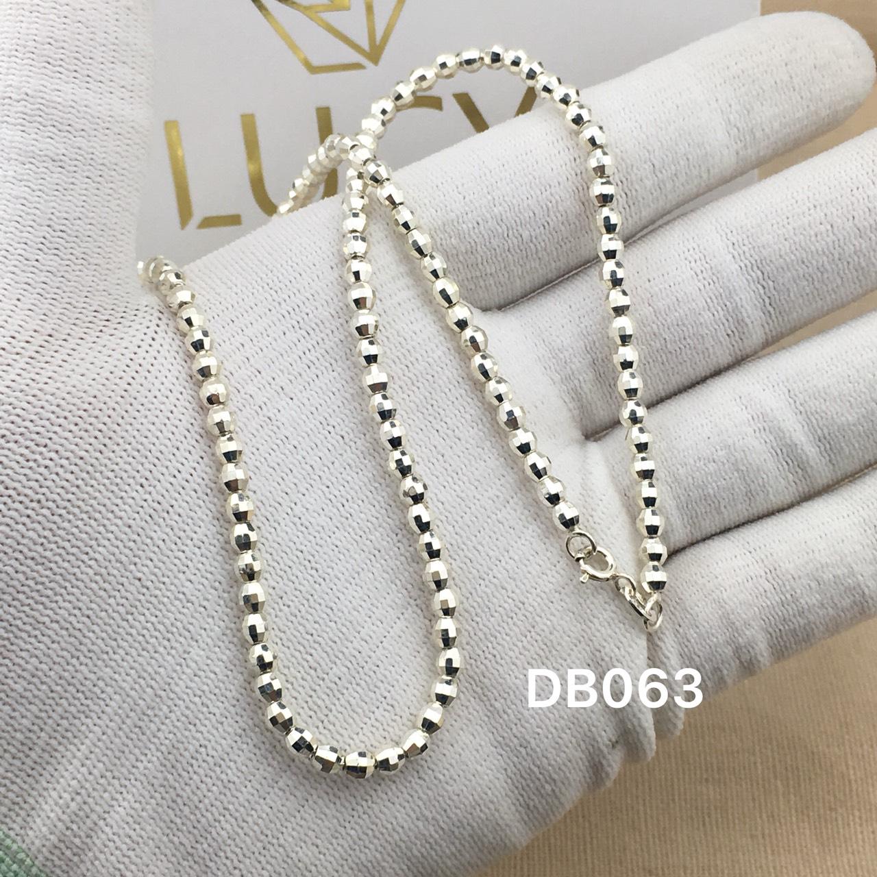 DB063 Dây chuyền vòng cổ bạc ta cho bé