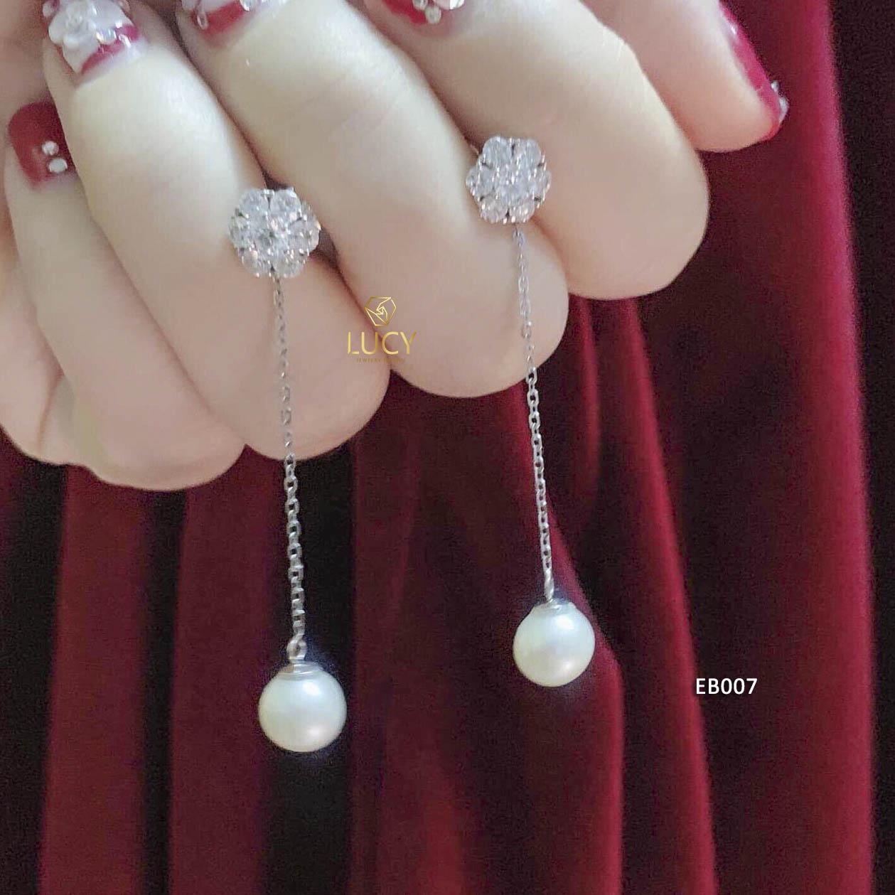 EB007 Khuyên tai vàng thiết kế Lucy Jewelry