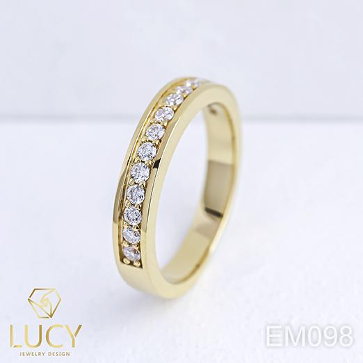 EM098 Nhẫn vàng nữ, nhẫn nữ thiết kế - Lucy Jewelry
