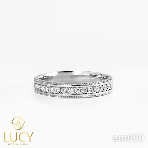 EM099 Nhẫn vàng nữ,  nhẫn nữ thiết kế - Lucy Jewelry