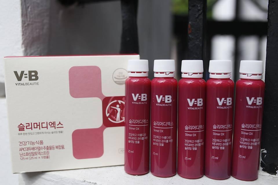 Nước Uống Giảm Cân VB PROGRAM SLIMER DX  30 chai - Hàn Quốc