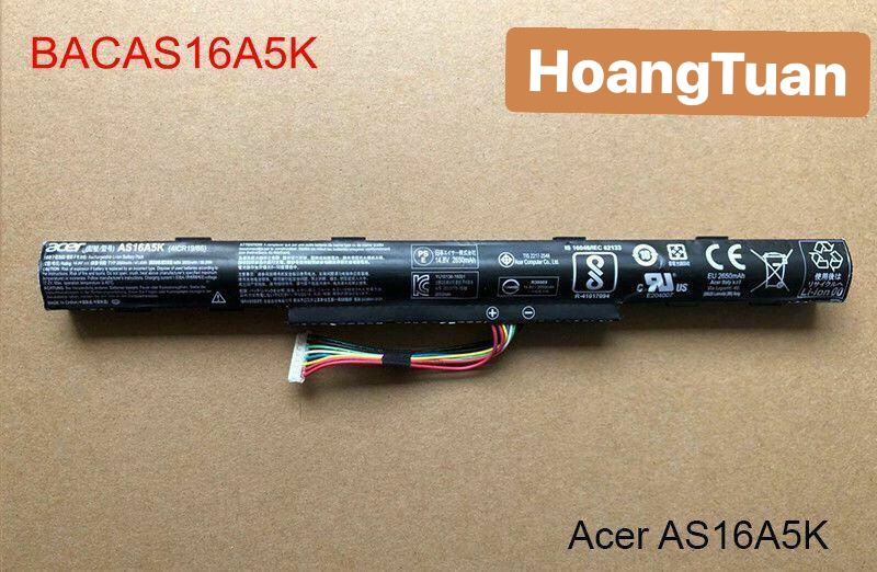 Pin Acer Aspire E5-475G 523G 553G 573G 575G 774G AS16A5K