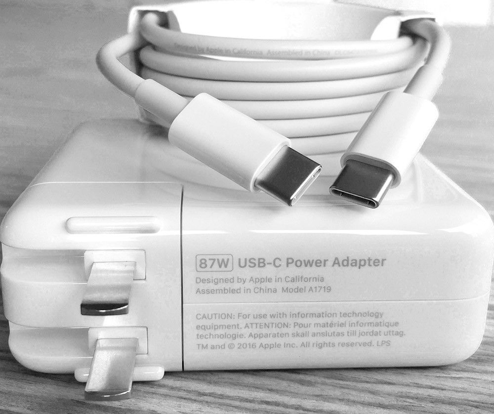 Sạc Laptop Macbook 87W USB-C A1719