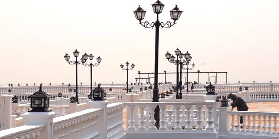 Cầu cảng Hải Tiến - Thiên đường Châu Âu thu nhỏ tại Hải Tiến