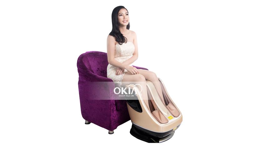 Máy massage chân tại nhà
