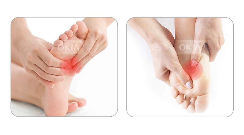 massafe chân theo phương pháp bấn huyệt