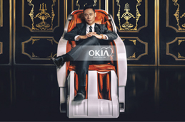 Quality and service make trademark of OKIA massage chair