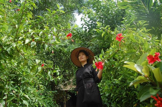 Sắc áo chàm Thái Hải