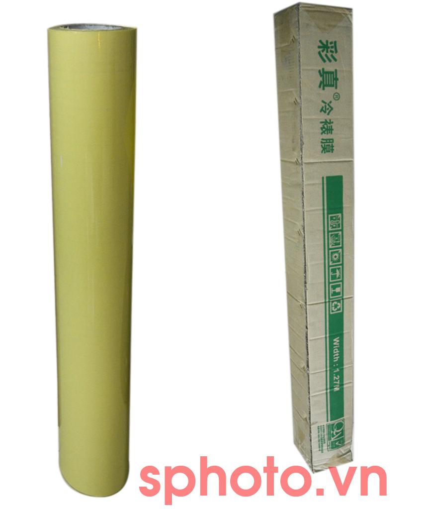 Giấy cán màng nguội (1.27x50m)