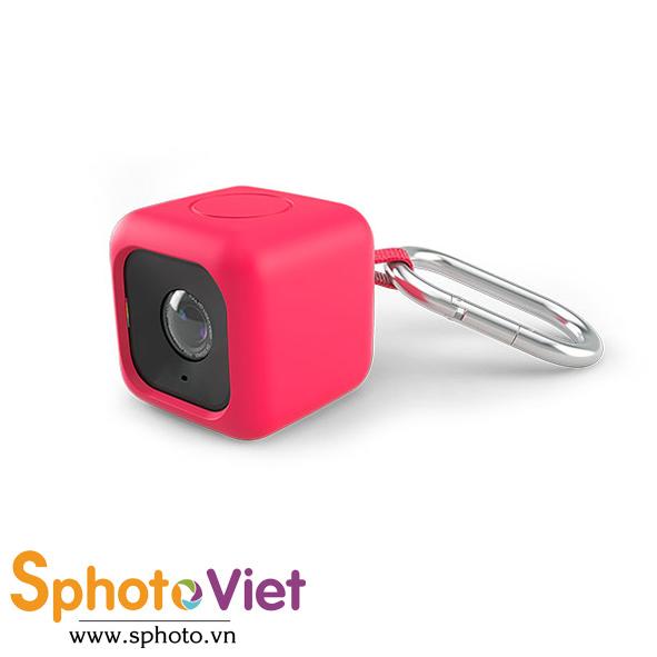 Bọc cao su đựng máy quay Polaroid Cube - Bumper Case (Đỏ)