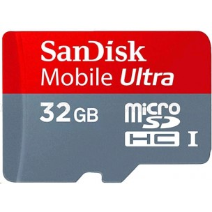 Thẻ nhớ Sandisk MicroSDHC - 32GB (Ultra 30MB/s)