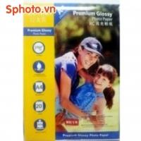 Giấy in ảnh Premium Glossy RC FANTAC A4 - Định lượng 265Gam