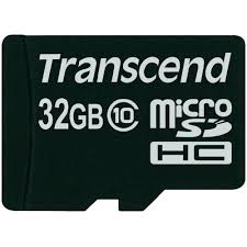 Thẻ nhớ Transcend MicroSDHC - 32GB class 10