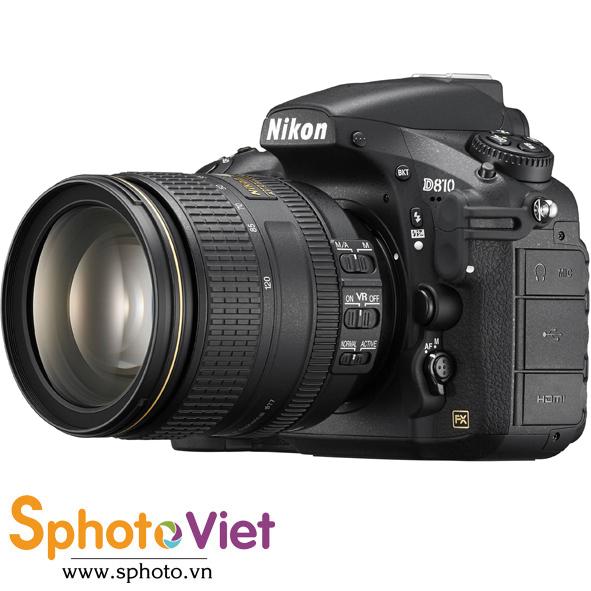 Máy ảnh Nikon D810 kit 24-120mm f-4G ED VR (Chính hãng)