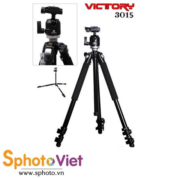 Chân máy ảnh Victory 3015