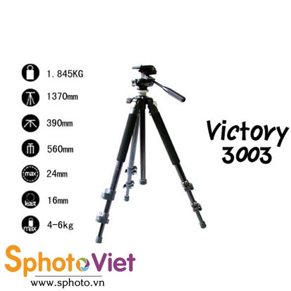 Chân máy ảnh Victory 3003