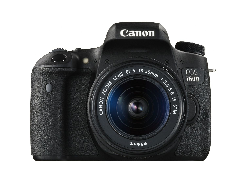 Canon 760D + Kit 18-55 STM