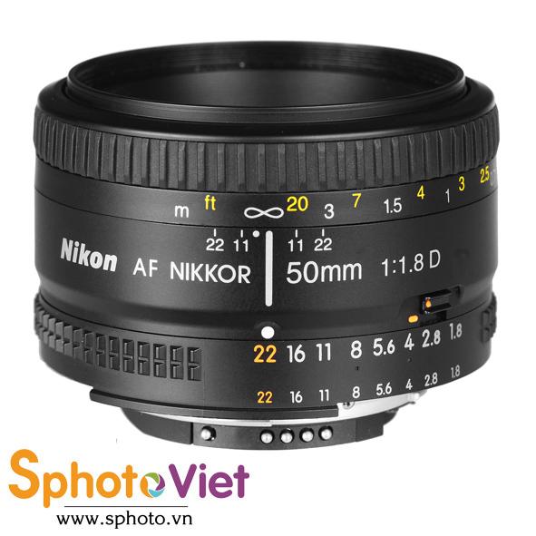 Ống kính Nikon AF 50mm f/1.8D (Chính hãng)