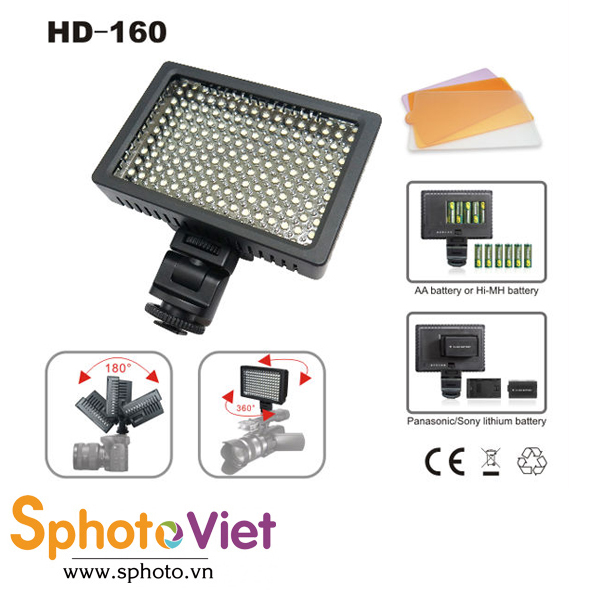 Đèn Led Video HD-160