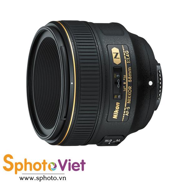 Ống kính Nikon AF-S 58mm f/1.4G (Chính hãng)