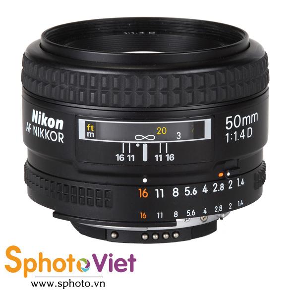 Ống kính Nikon AF 50mm f/1.4D (Chính hãng)