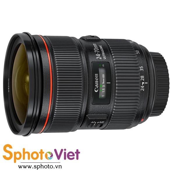 Ống kính Canon EF 24-70mm F/2.8 USM II