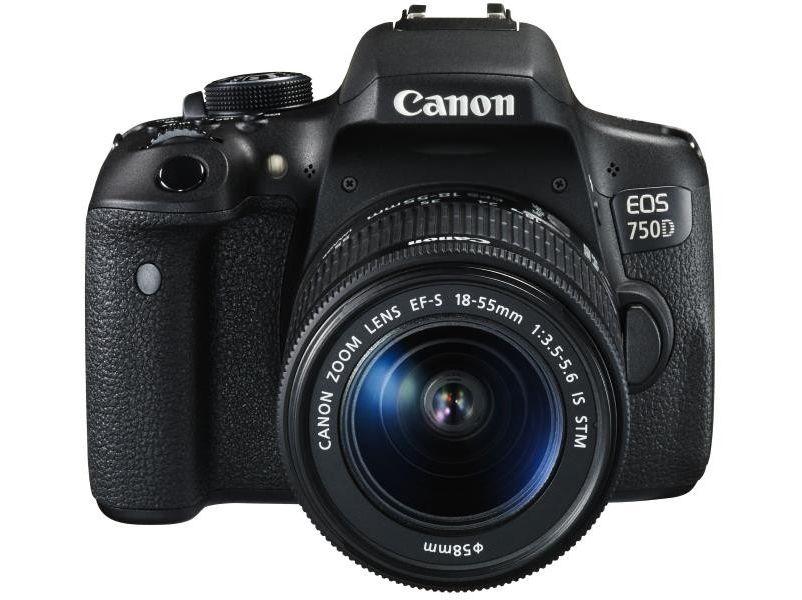 Canon 750D + Kit 18-55 IS STM