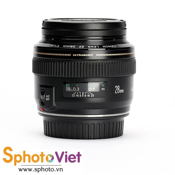 Ống kính Canon EF 28mm f/1.8 USM