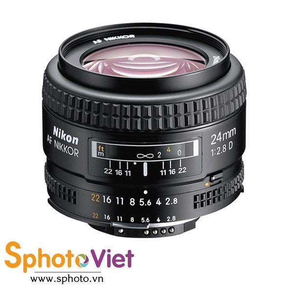 Ống kính Nikon AF 24mm f/2.8D (Chính hãng)
