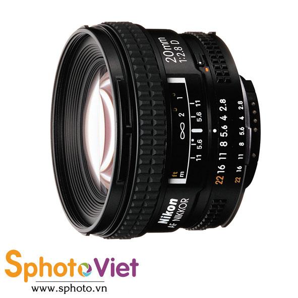 Ống kính Nikon AF 20mm f/2.8D (Chính hãng)