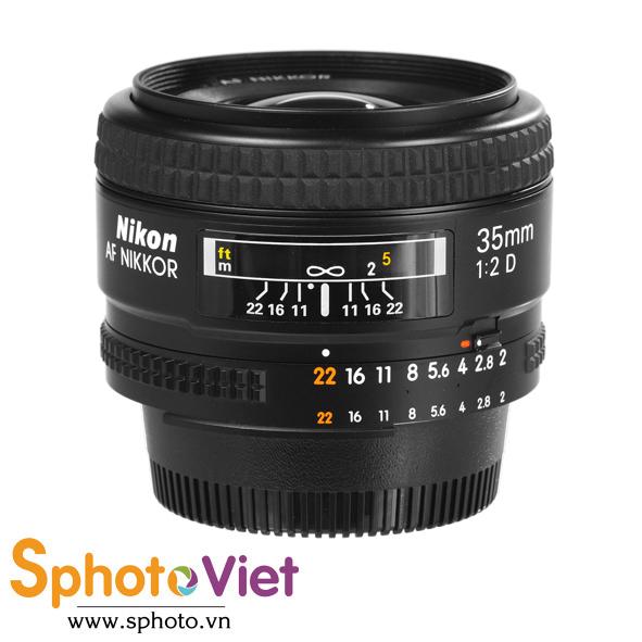 Ống kính Nikon AF 35mm f/2D (Chính hãng)