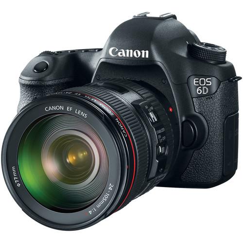 Canon EOS 6D kit 24-105mm f/4L