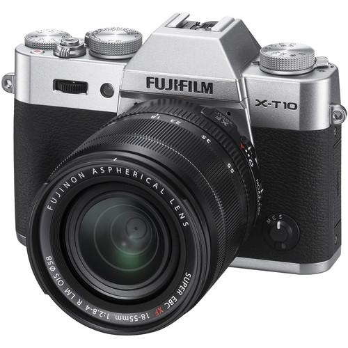 Fujifilm X-T10 + 18-55mm / Màu Bạc