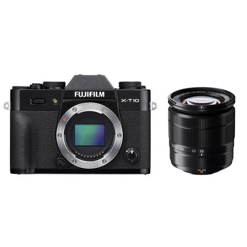 Fujifilm X-T10 + 16-50mm / Màu Đen