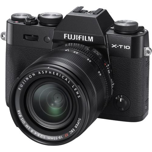 Fujifilm X-T10 + 18-55mm / Màu Đen