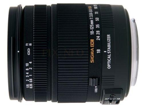 Sigma 18-125mm f/3.8-5.6 DC OS HSM for Canon (Chính Hãng)