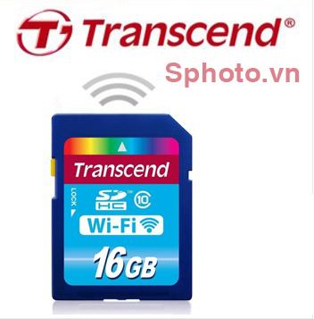 Thẻ nhớ SD Transcend 16 GB Class 10 Wifi .