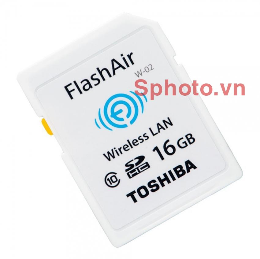 Thẻ nhớ SD Toshiba 16GB Class10 FlashAir Wireless