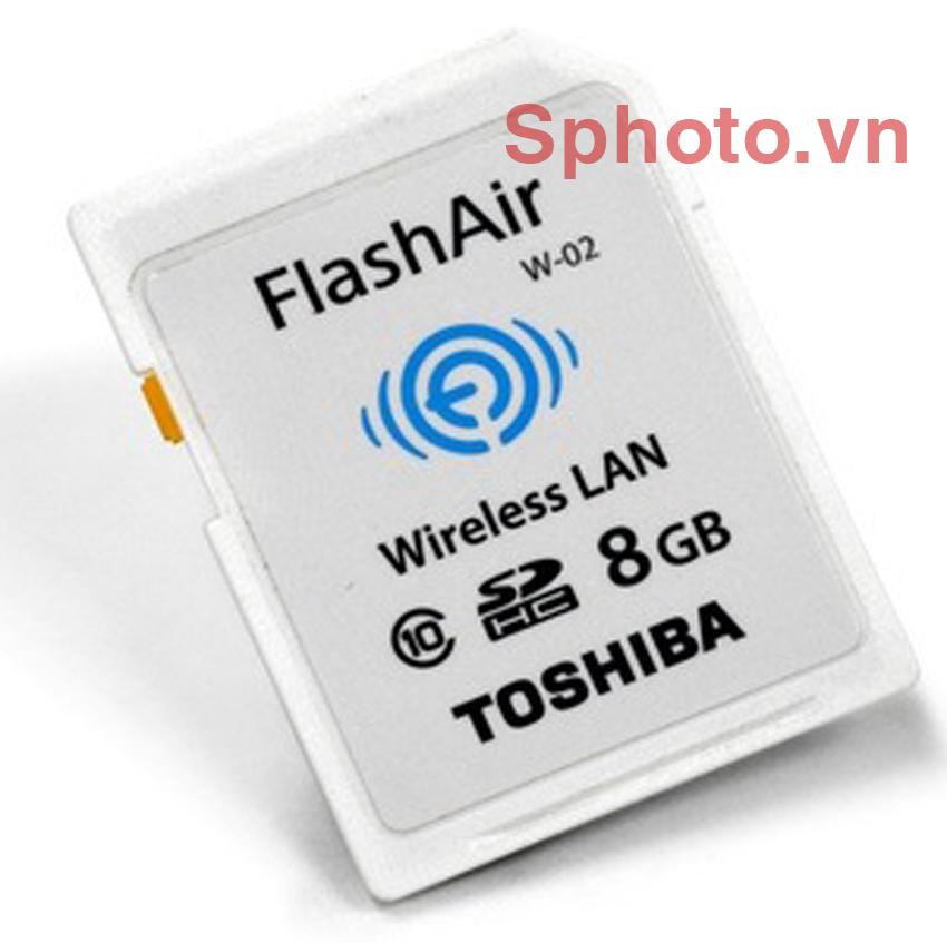 Thẻ nhớ SD Toshiba 8GB Class10 FlashAir Wireless
